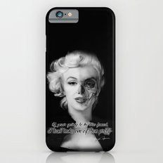 Two Face. Marilyn Quote iPhone 6s Slim Case