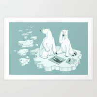 This Keeps Happening Art Print