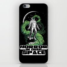 Horror In Deep Space iPhone & iPod Skin