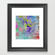 Multicolored Abstract No… Framed Art Print