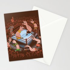 Arm Wrestle Mania Stationery Cards