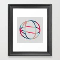ROTATE Framed Art Print