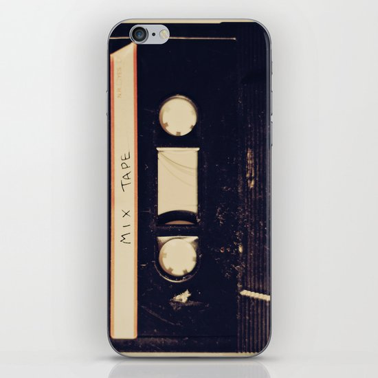 mix tape iPhone & iPod Skin