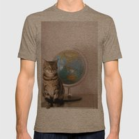 The World Is Not Enough Mens Fitted Tee Tri-Coffee SMALL