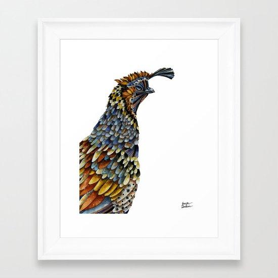 Quail Kreios 3 Framed Art Print