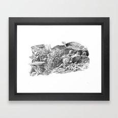 Fungal Framed Art Print