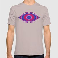Pink Eye Mens Fitted Tee Cinder SMALL