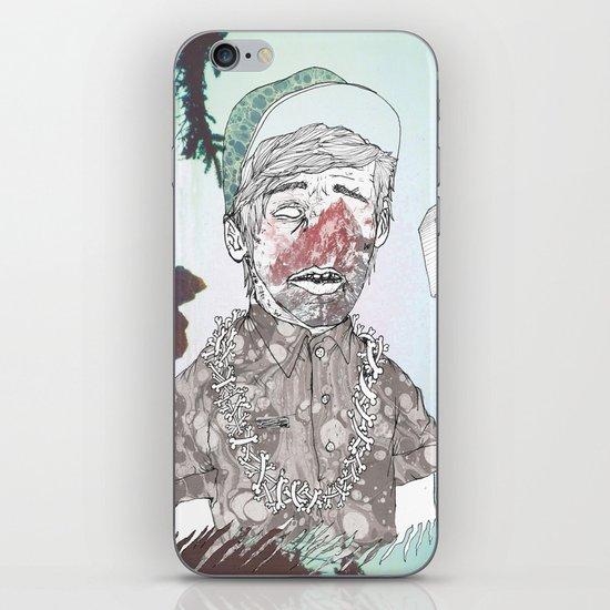 THE ETERNAL CHAMP iPhone & iPod Skin