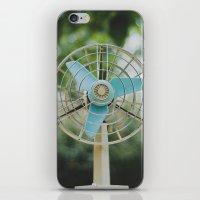 Vintage Fan iPhone & iPod Skin