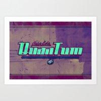 Nuka-Cola Quantum Art Print
