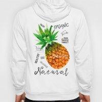 Watercolor pineapple Hoody
