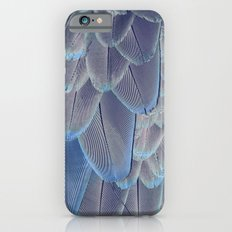 Silver Feathers iPhone 6s Slim Case