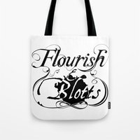 Flourish & Blotts of Diagon Alley Tote Bag
