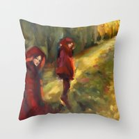 Agnes - Autumn Throw Pillow