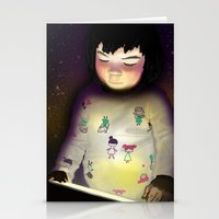 Digtal Generation Stationery Cards
