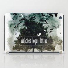 arbores loqui latine iPad Case