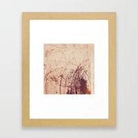 miriams drawing Framed Art Print