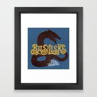 Basilisks Framed Art Print