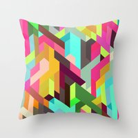 City 04. Throw Pillow