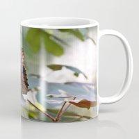 Butterfly Blue Mug