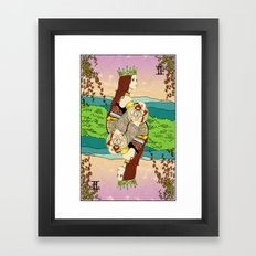 The Queen (Twins) Framed Art Print