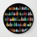 Black Bottle Multi Wall Clock