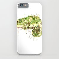 iPhone & iPod Case featuring Green Guy by Meg Ashford