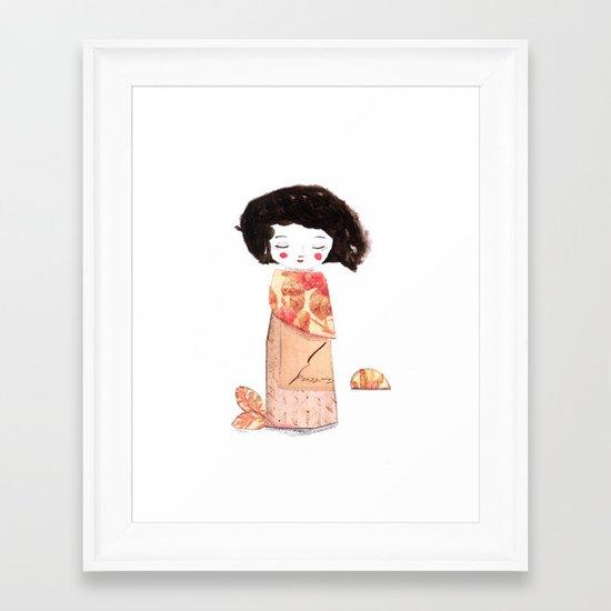 Oriental Framed Art Print