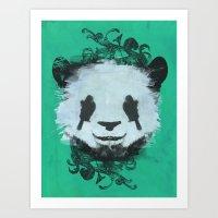 Pretty Panda Art Print