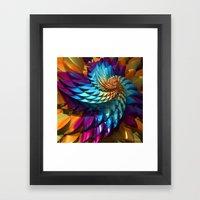 Dragon Skin Framed Art Print