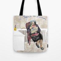 L'élégance Du Hérisso… Tote Bag