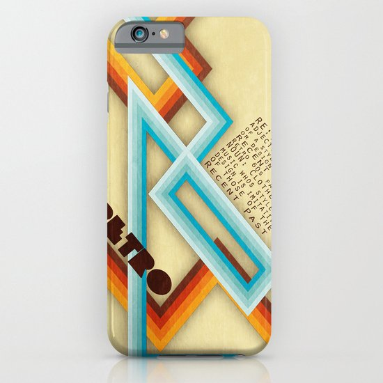 Retro Meaning iPhone & iPod Case