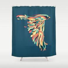 Downstroke Shower Curtain