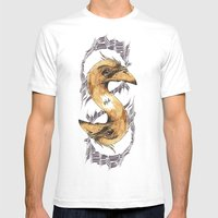 SAINT BIRD OF PARADISE  Mens Fitted Tee White SMALL