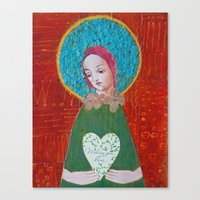 Wishing You Love Canvas Print