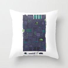 AFK Throw Pillow
