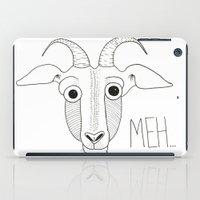 Meh Goat iPad Case