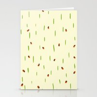 Ladybird invasion Stationery Cards