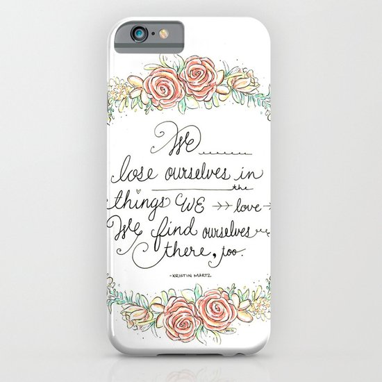 Lose Yourself iPhone & iPod Case