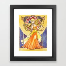 Princess Venus Framed Art Print