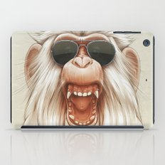The Great White Angry Monkey iPad Case