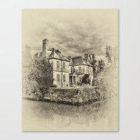 Ole England Canvas Print