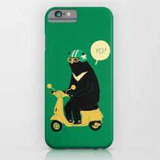 Scooter Bear Green iPhone 6 Slim Case