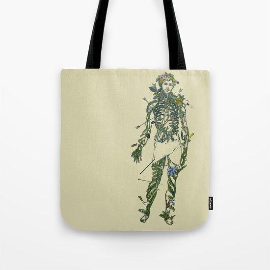 Wound Man Tote Bag