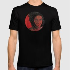 Lauryn Hill Mens Fitted Tee Black SMALL