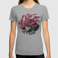 Nature vs Nurture Womens Fitted Tee Athletic Grey SMALL