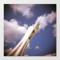 Stade Olympique Canvas Print