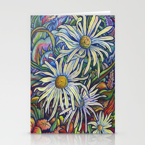 Wild Daisies Stationery Card