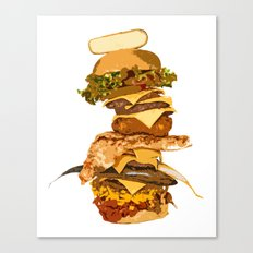 ULTIMATE BURGER Canvas Print