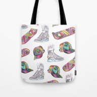 Watercolor Back To The F… Tote Bag